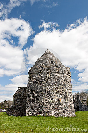 Aughnanure Tower in Ireland.