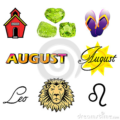 August Icons