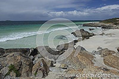 Augusta beach in Australia