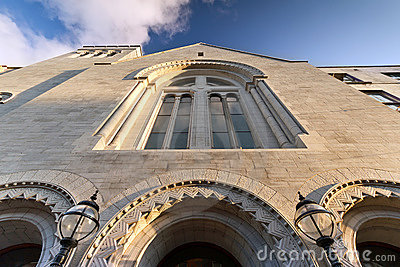 Augustinian church architecture