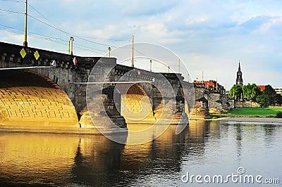 Augustus Bridge in Dresden