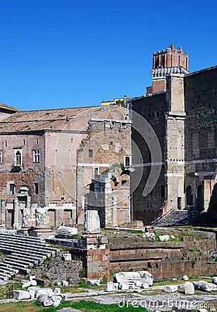 Augustus Forum in Rome (Italy)