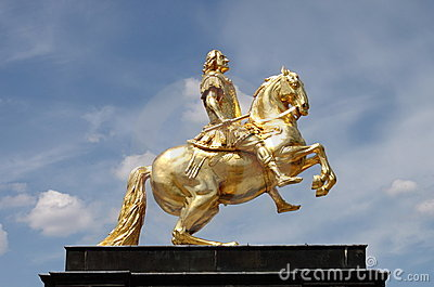 Augustus II The Strong statue