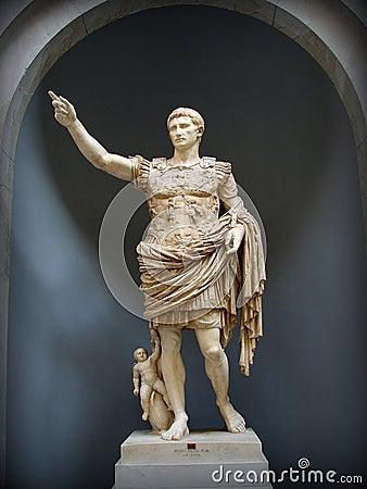 Free Augustus Of Prima Porta Statue Royalty Free Stock Photos - 32710778