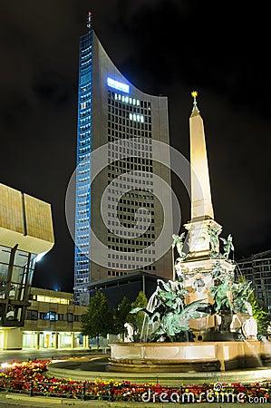 Augustus Platz in Leipzig