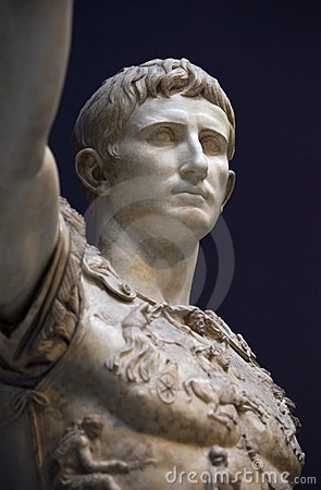 Augustus of prima porta Editorial Stock Photo