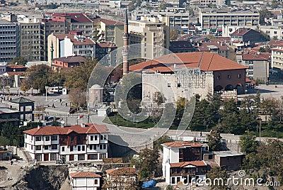 Augustus Temple & Hacı Bayram Mosque