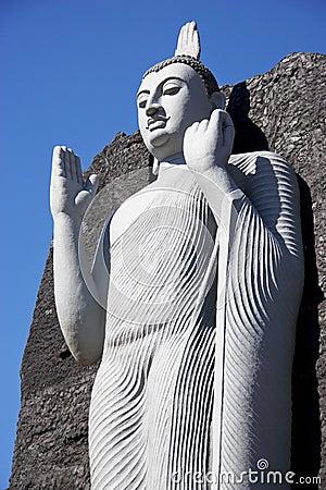 Aukana Buddha Replica, Sri Lanka