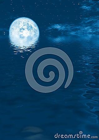 Aumentação da Lua cheia