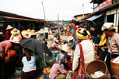 Aung ban Editorial Image