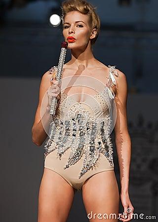 On aura tout vu spring summer 2012 fashion show Editorial Stock Photo