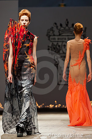 On aura tout vu spring summer 2012 fashion show Editorial Image