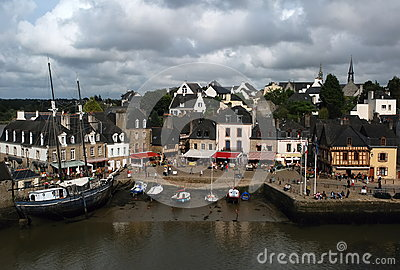Auray, Brittany Editorial Stock Photo