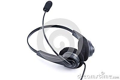 Auriculares con el micrófono