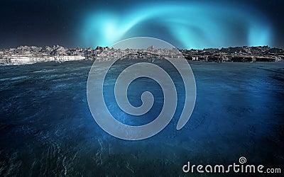Aurora On The Horizon