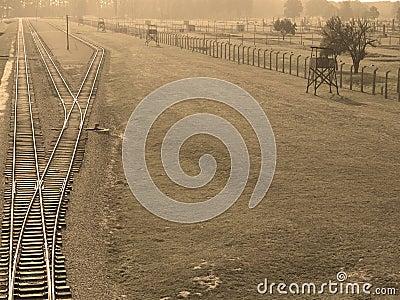 Auschwitz Editorial Photography