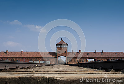 Auschwitz-Birkenau 1 Editorial Stock Photo