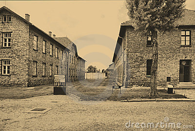 Auschwitz Birkenau camp Editorial Photography