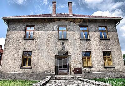 Auschwitz Birkenau concentration camp Editorial Photo