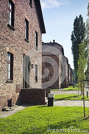 Auschwitz-Birkenau Concentration Camp Editorial Photo