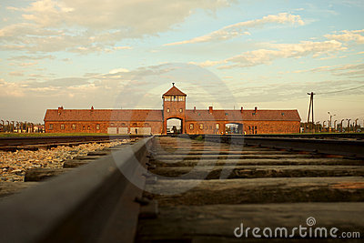 Auschwitz-Birkenau Concentration Camp Editorial Image