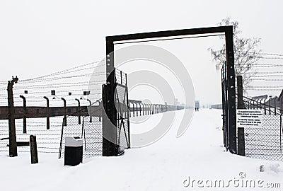Auschwitz camp, Poland Editorial Image