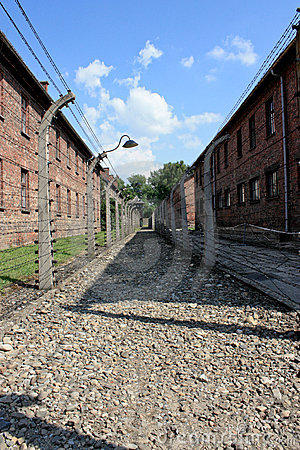 Auschwitz concentration camp in poland Editorial Photography