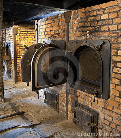 Auschwitz Concentration Camp - Poland Editorial Stock Photo