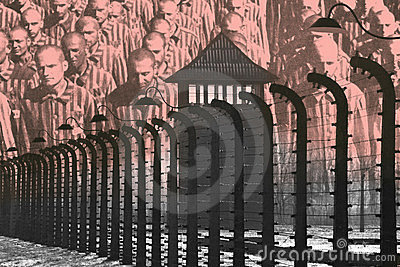 Auschwitz Concentration Camp - Poland Editorial Image