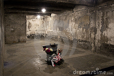 Auschwitz Gas Chamber - Poland Editorial Photography