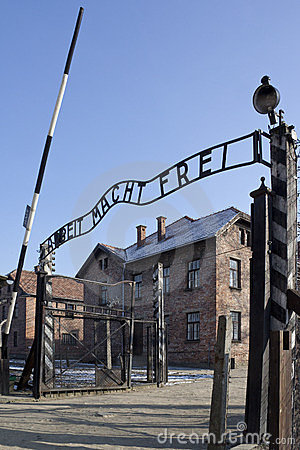 Auschwitz Nazi Concentration Camp - Poland Editorial Image