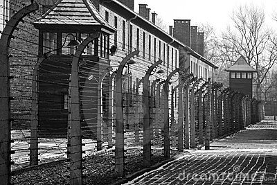 Auschwitz Nazi Concentration Camp - Poland Editorial Stock Image