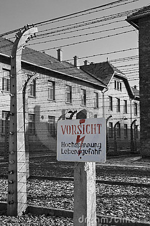 Auschwitz Nazi Concentration Camp - Poland Editorial Photo