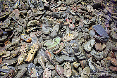 Auschwitz - shoes Editorial Image
