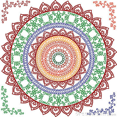 Ausführliche Mandala-Auslegung