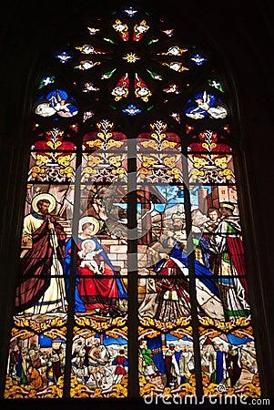 Ausflug-Kathedrale Verglasung