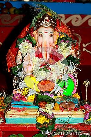Auspicious Indian deity