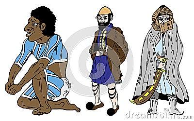 Aussie, Greek and Bedouin
