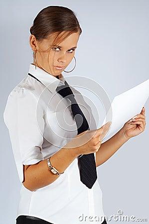 Austere secretary
