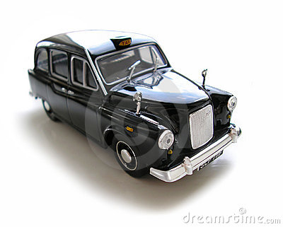 Austin Cab -  Model Car. Hobby, collection