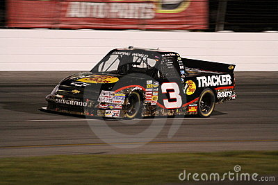 Austin Dillon Exiting Turn 2 Truck Series Night Editorial Photo