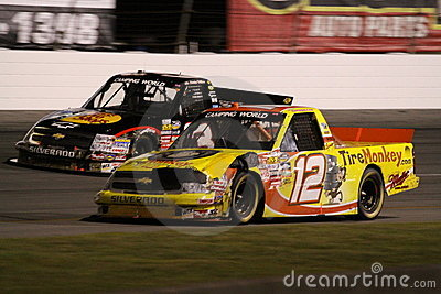 Austin Dillon Mario Gosselin 12 ORP NASCAR Truck Editorial Photography