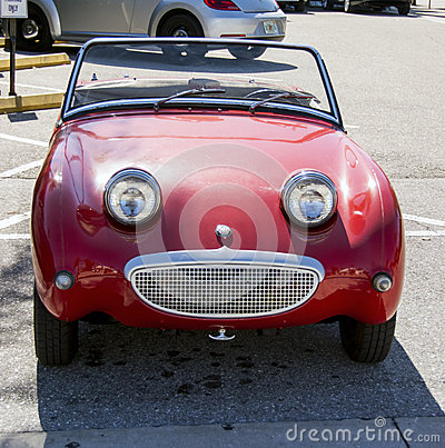 Austin-Healey Sprite Editorial Photography