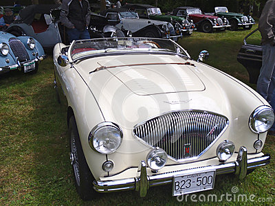 Austin Healy Editorial Stock Image