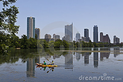 Austin Skyline Editorial Photography