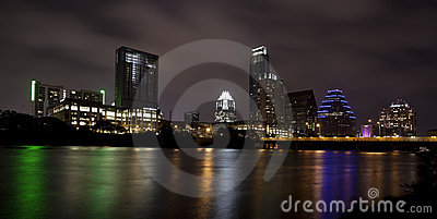 Austin Skyline (night)