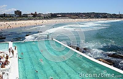 Australia Bondi Icebergs Pool