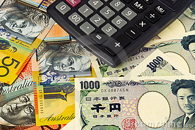 Australia and Japanese currency pair