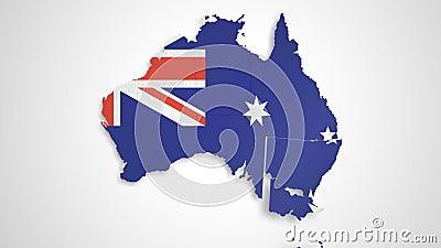 Australia Map HD.