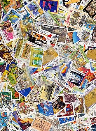 Australia postage stamps